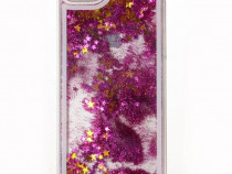 Husa plastic apple iphone 6 6s glitter purple produs nou