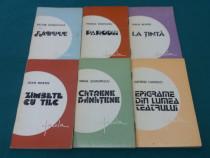 Lot 6 volume epigrame și stihuri satirice