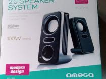 Boxe multimedia pentru calculator Omega
