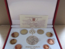 Set monede euro Vatican 2008 - Proof