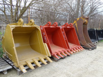 Cupa excavator caterpillar 20 - 40 tone, noi si second !