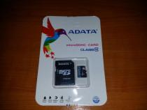 Card memorie microSD 64GB ADATA cu adaptor SD