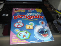 Magic English Sticker Dictionary Dictionar Ilustrat