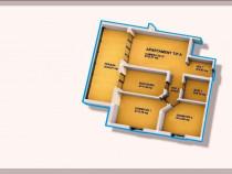 Apartament 3 camere 100m patrati zona DruRelax