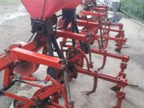 Cultivatoare 3 randuri cu fertilizare