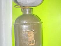 8569-I-Plosca militara soldat sticla metal emailat 1 razboi.