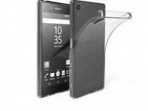 Husa Telefon Silicon Sony Xperia Z5 Clear Grey Ultra Thin Ve