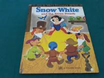 Snow whitw and the seven dwarfs/ ilustrații walt disney