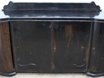 Servanta Vintage din Lemn Masiv; Comoda; Dulap 5 sertare