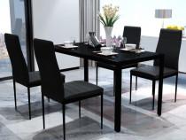 Set masă și scaune de bucătărie, cinci piese (242986)