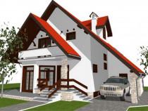 Casa noua in Cordun  construita din cofraje termoizolante