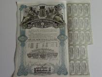 Actiuni Societatea Comunala a Tramvaielor Bucuresti 1923-43