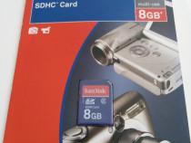 SD card SanDisk 8GB nou nout ,3 bucati