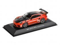 Macheta Porsche 911 GT3 RS Portocaliu Lava Oe Porsche