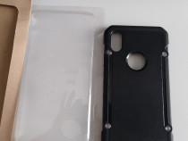 Husa pentru iPhone X de protectie, Case Hard,Negru,noua.