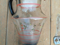 Cana carafa mare de sticla