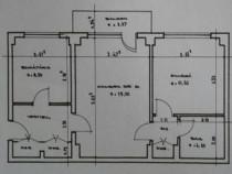 Apartament 2 camere - Sebastian - etaj 4