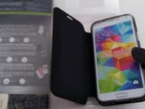 Husa flip Samsung S5 mini,nou nouta,la cutie.