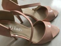 Sandale roz somon