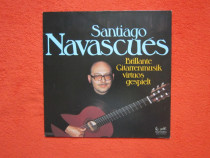 Vinil/vinyl Santiago Navascués-Brillante Gitarrenmusik Virtu