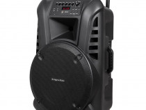 "Boxa portabila Kruger&Matz ,15""-60w,2 microfoane UHF"