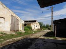 Grajd 2100mp Sicula jud Arad central cu teren 2900mp