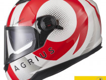 Casca Moto NOUA cu ochelari de soare, 4* Sharp, Agrius Warp