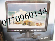 TV televizor auto 220V LCD 7 inch 18 cm, priza 220V si adapt