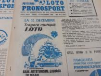 Programul loto pronosport 1986* 25 numere diferite