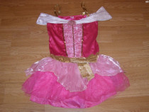 Costum carnaval serbare aurora pentru adulti marime S