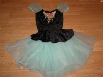 Costum carnaval serbare rochie dans balet copii de 6-7 ani