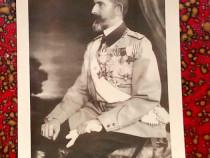 Ferdinand I, carte postala, 1921