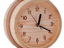 Ceas SAWO din lemn de pin