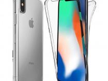Husa Telefon Silicon Apple iPhone X iPhone XS Clear Ultra Th