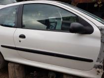 Usa dreapta fata Peugeot 206+, 2010