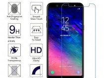 Samsung A6 A8 2018 - Folie Sticla Securizata Clara Scurta P