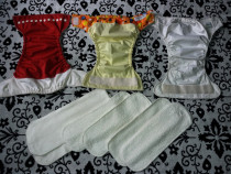 Scutece textile lavabile impecabile