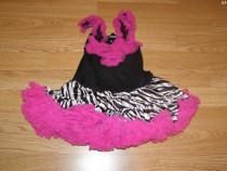 Costum carnaval serbare rochie dans gala de 2-3 ani