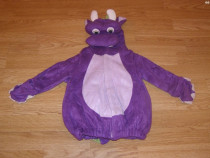 Costum carnaval serbare animal dragon de 6-9-12 luni