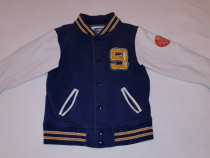 Bluza colegiu, jacheta bumbac, L.O.G.G. H&M, mărimea 110-116