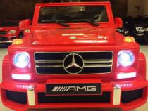 Kinderauto mercedes g63 suv 12v, usb, transport gratuit