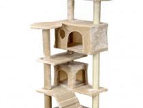 Ansamblu de Joaca pentru Pisici tip Turn, 7 Nivele, Bej