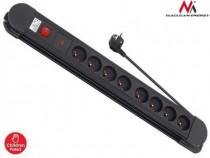 Cablu Prelungitor cu 8 Prize si Impamantare, Lungime 1,5m