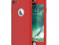 Husa 360 Din Plastic Fata Spate Folie Sticla - Iphone 6 6S+