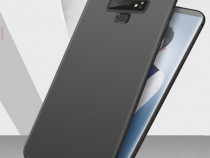 Samsung Note 9 - Husa Ultra Slim Silicon Transparenta/Neagra