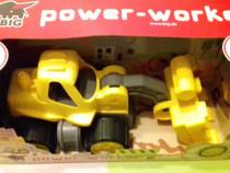 Jucarie Buldozer - incarcator frontal BIG Power Worker
