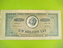 1000 000 Lei-16 Aprilie 1947-Bancnota Romania regalista.
