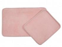 Set covorase de baie roz english home