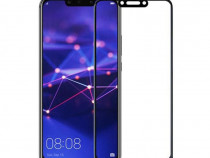 Folie Sticla Tempered Glass Huawei Mate 20 Lite 2.5D Black F