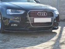 Prelungire splitter tuning bara fata Audi A4 B8 2012-2015 v2